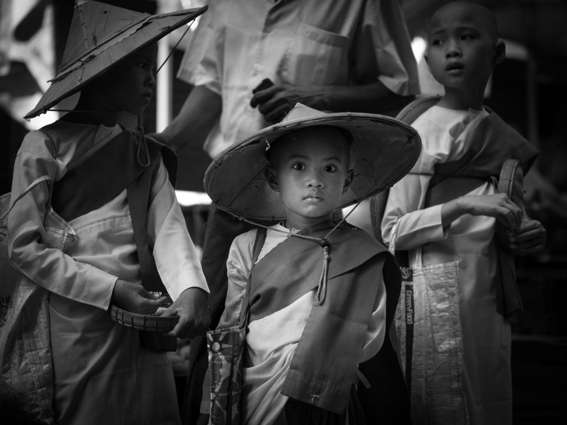 Burmese-nuns