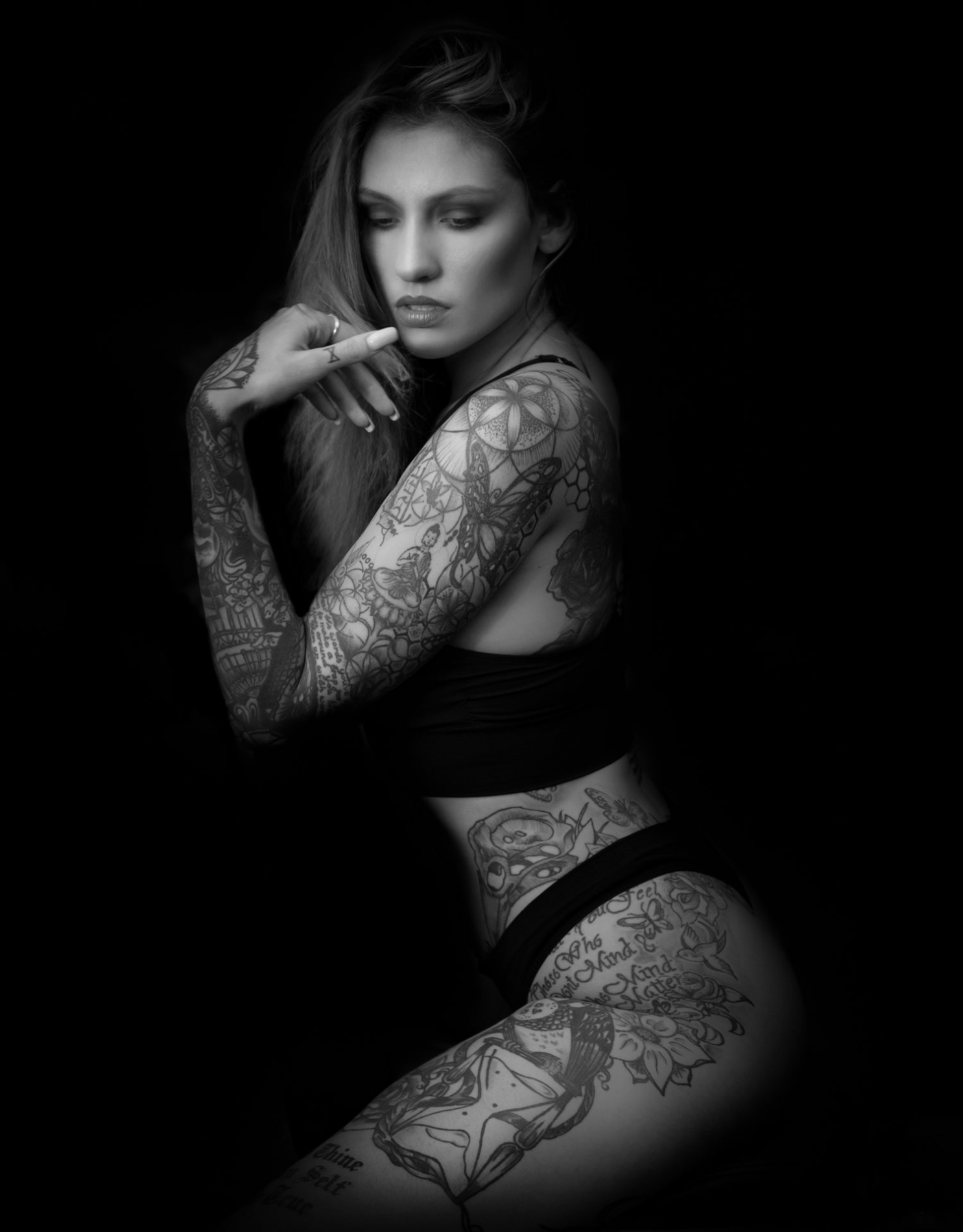 Tattooed-girl